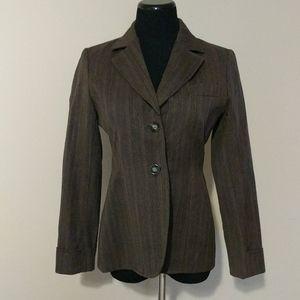 Harve Benard 100% wool blazer size 4 fall winter